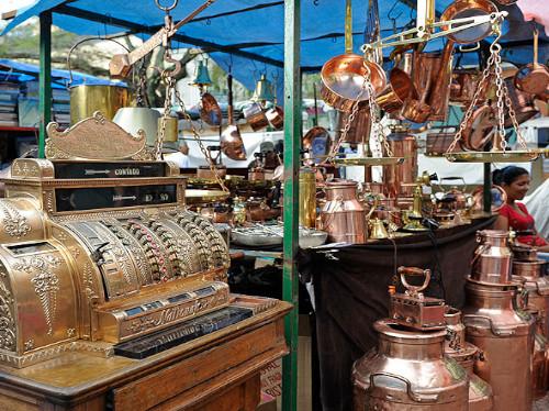 Feria de antigüedades San Telmo